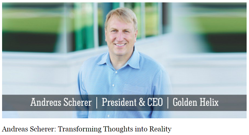 Andreas Scherer Insights Success